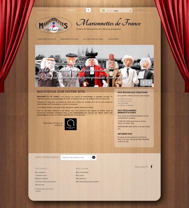 Screenshot - MarionnettesDeFrance.com