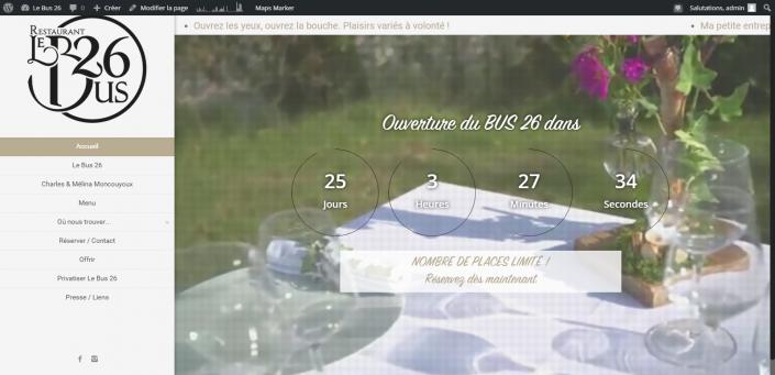 Screenshot LeBus26.fr